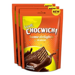 LuvIt Chocwich Home Delights Wafer Chocolates Crunchy Rs 199 amazon dealnloot
