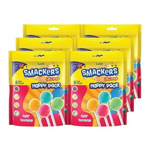 LuvIt Smackers Fruit Flavoured Lollipops Pack of Rs 249 amazon dealnloot