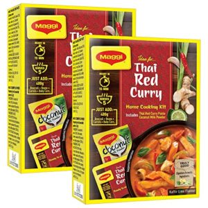 MAGGI THAI RED CURRY HOME KIT AUTHENTIC Rs 110 amazon dealnloot