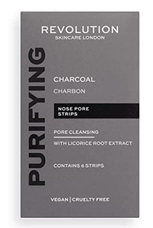 Makeup Revolution Skincare Pore Cleansing Charcoal Nose Strips