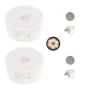 New Motion Sensor Light USB Rechargeable Operated Rs 313 amazon dealnloot