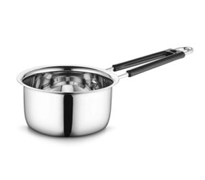 Profusion Stainless Steel Sauce Pan Silver 1 Rs 230 amazon dealnloot