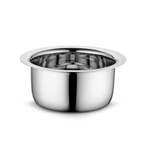 Profusion Stainless Steel Tope Patila Bhagona Silver Rs 445 amazon dealnloot