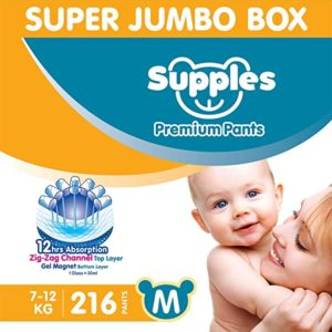 Supples Baby Diaper Pants M Pack of Rs 1388 amazon dealnloot