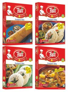 Tops South Indian Mix Rice Idli 200gm Rs 124 amazon dealnloot