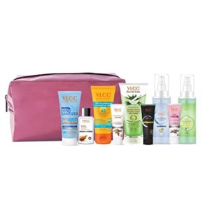 VLCC Nourish Shine Kit with Pouch Assorted Rs 499 amazon dealnloot