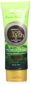 WOW Amazon Rainforest Collection Mineral Face Wash Rs 119 amazon dealnloot