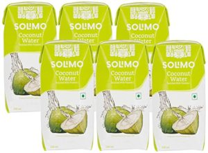 Amazon Brand Solimo Coconut Water 200ml Pack Rs 185 amazon dealnloot