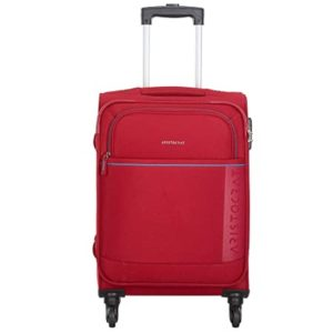 Aristocrat Polyester 58 3 cms Red Softsided Rs 1499 amazon dealnloot