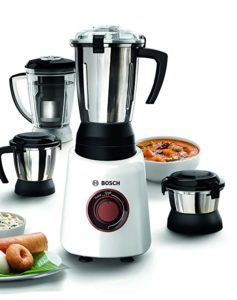 Bosch Bold 750W Mixer Grinder with 4 Rs 2783 amazon dealnloot