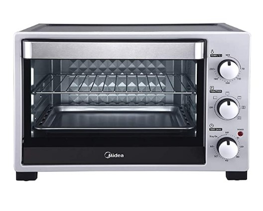 Midea MEO-35SZ21 35L Oven Toaster and Grill with 4 Heating Mode