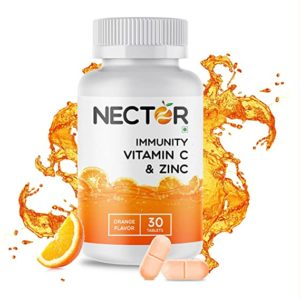 Nector Foods Vitamin C Tablets with Natural Rs 99 amazon dealnloot