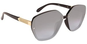 NuVew Mirrored Butterfly Sunglasses For Women Mirror Rs 208 amazon dealnloot