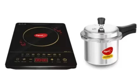 Pigeon Acer Plus Induction Cooktop with IB 3 Ltr Pressure Cooker