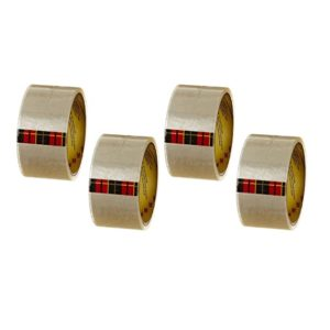 Scotch Packing Tape 2 x50m Clear Pack Rs 100 amazon dealnloot