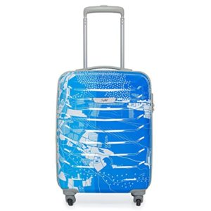 Skybags Trooper 55 Cms Polycarbonate Blue Hardsided Rs 1999 amazon dealnloot