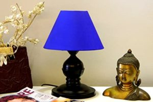 TUCASA Table LAMP with CONICAL Shade Rs 269 amazon dealnloot