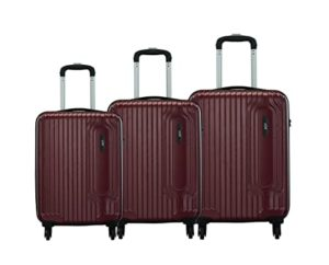 VIP Trace Polycarbonate Hardsided Luggage Small 55cm Rs 4849 amazon dealnloot
